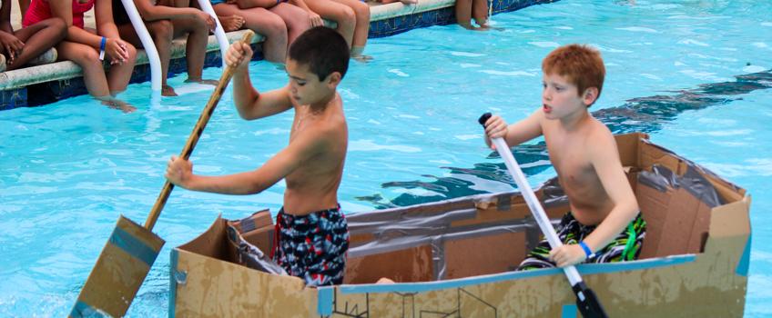 pool-boat